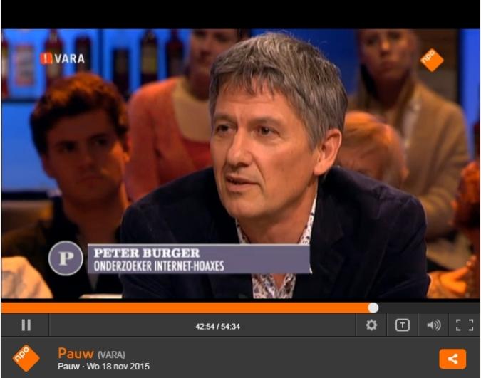 Peter Burger bij Jeroen Pauw (na 42.20 minuten)