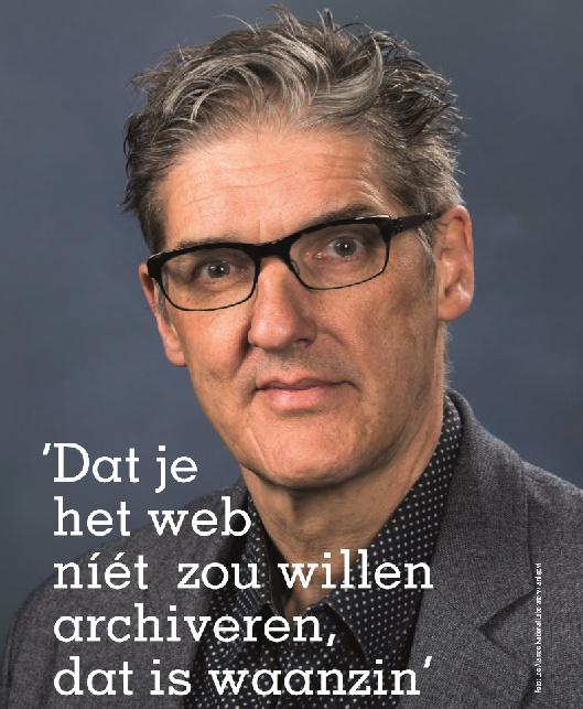 INTERVIEW MET HERBERT VAN DE SOMPEL